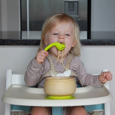 Haakaa Silicone Noodle Spoon, Yellow