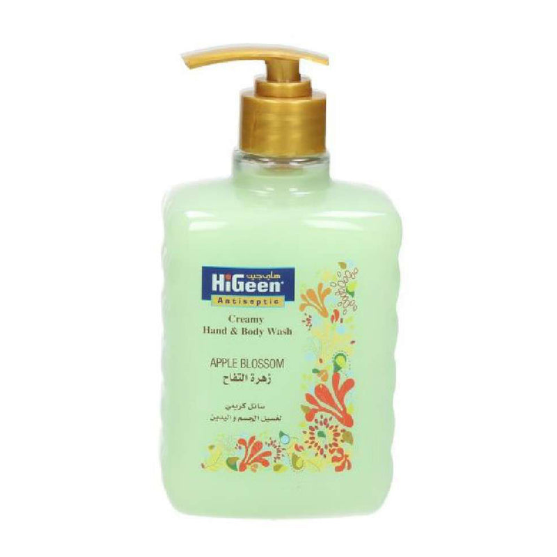 Higeen Creamy Hand & Body Wash Apple Blossom, 500ML