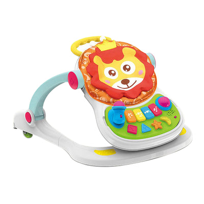 4 In 1 Baby Walker With Light & Music + Dining Chair Bag