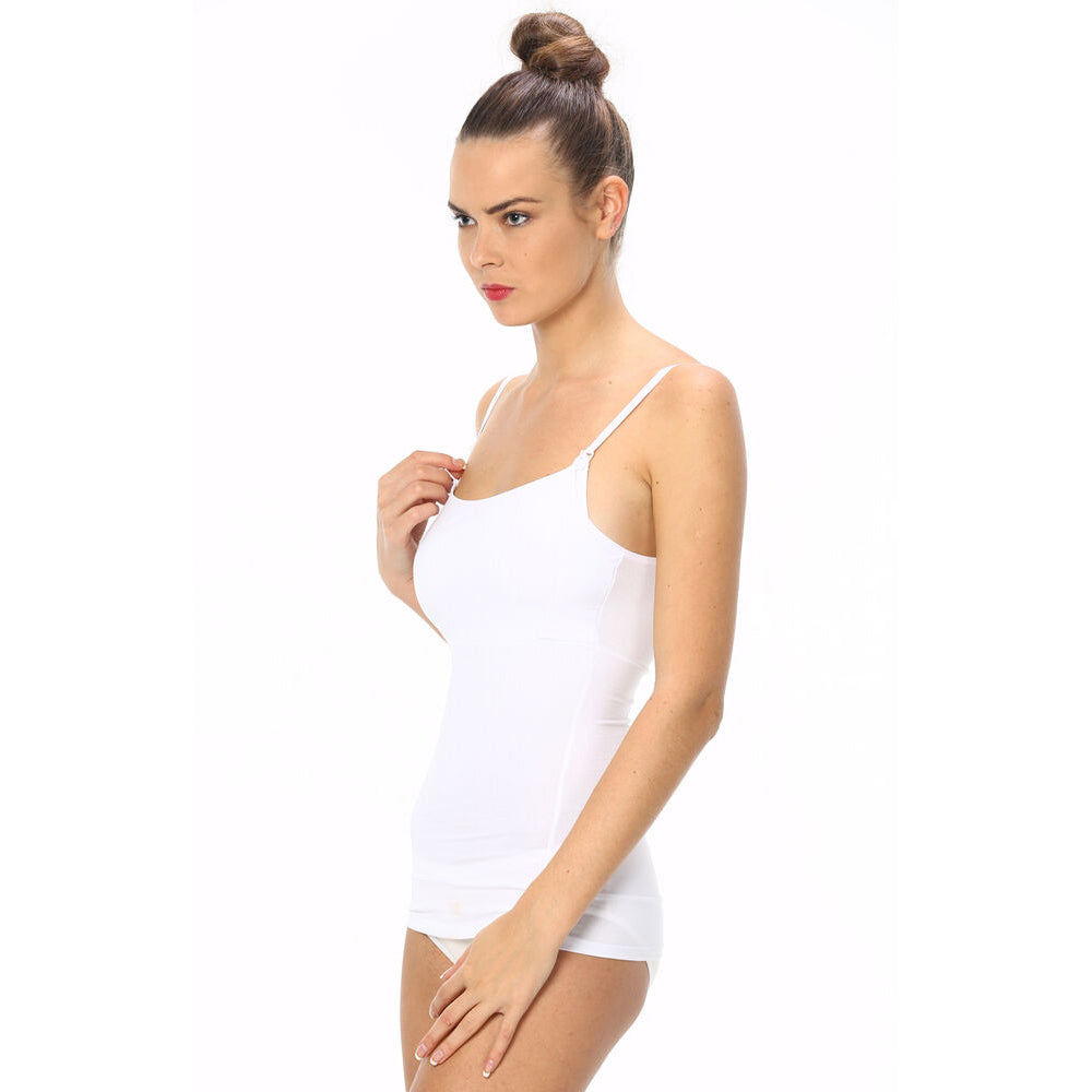 Imer Nursing Tank Top 1298 - White