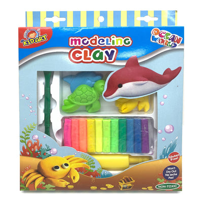 Kidart Modeling clay set - Ocean world
