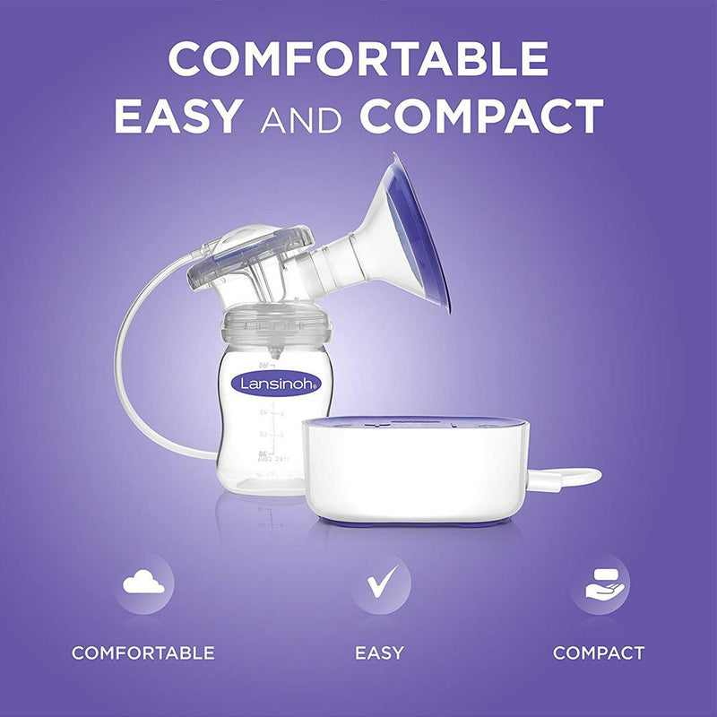 Lansinoh Breast Pump Compact Single Electric Breastpump