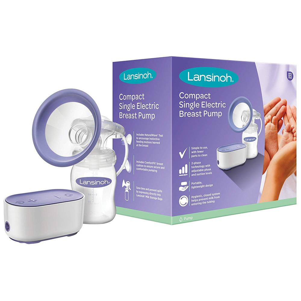 lansinoh breast pump instructions