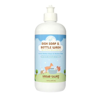 Little Twig Organic Dish Soap & Bottle Wash - Fragrance Free