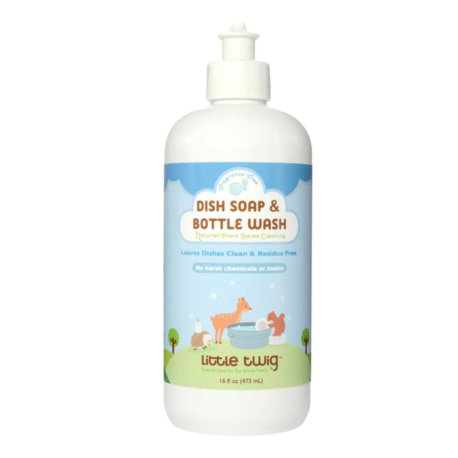 Little Twig Dish Soap & Bottle Wash - Fragrance Free