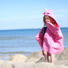 Little Champions Autonomy hooded towel Unicorn Pink
