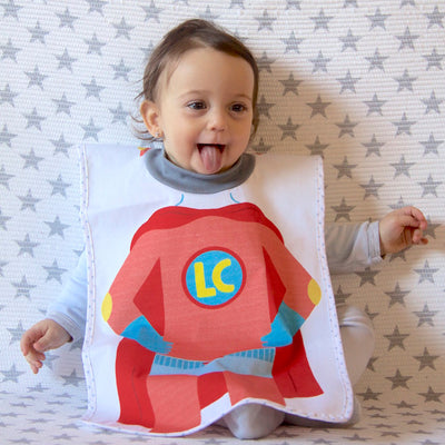 Little Champions Big Bib Hurray! Superhero