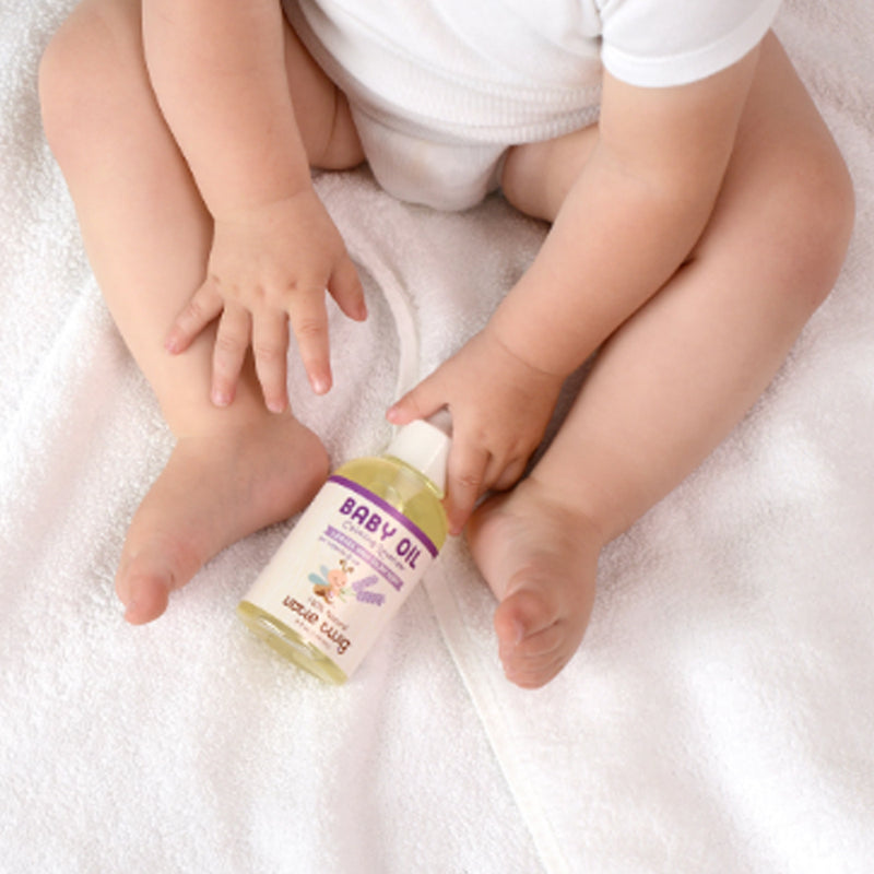 Little Twig Organic Baby Oil, Calming Lavender