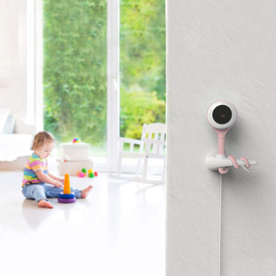 Lollipop Smart Wi-Fi-Based Baby Camera - Pink