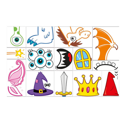 Maped Creativ Travel Board - Knights and Princesses