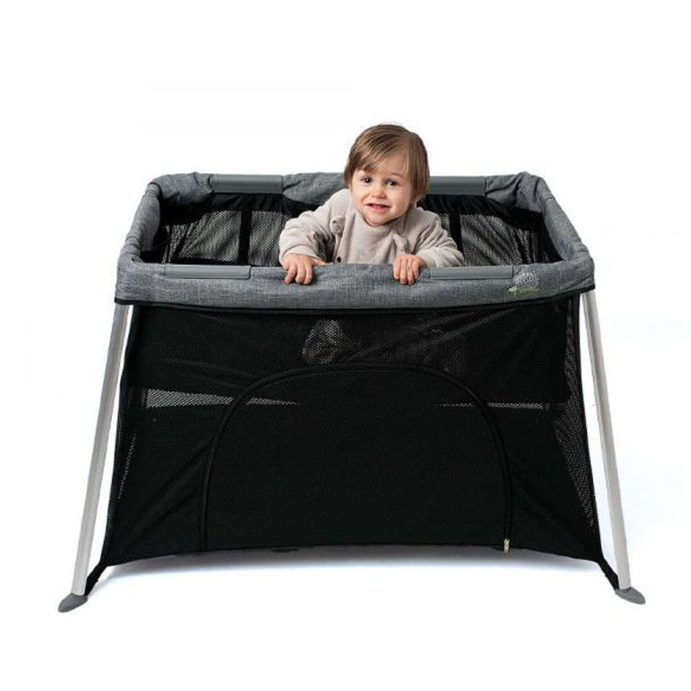 Olmitos Mini Travel Cot With Hedgehog