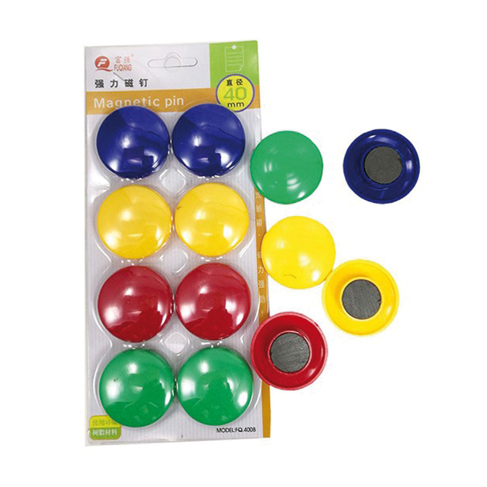 Magnetic Button, 6 Pieces