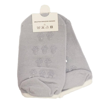 Mama's First Non-Slip Socks - Grey, Pack of 3
