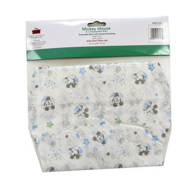 Mickey Disposable Bibs, Pack of 8