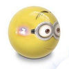 MONDO LED Flash Ball Minions, 10cm