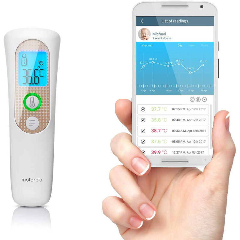 Motorola Smart Touchless Thermometer