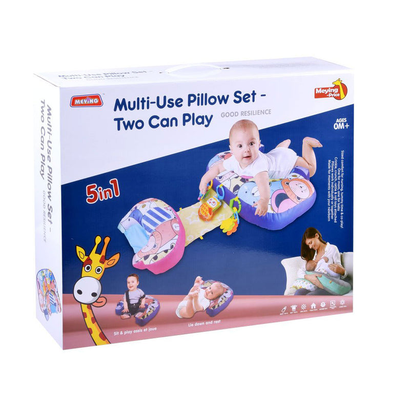 Multi-use pillow set two can play, 5 in 1