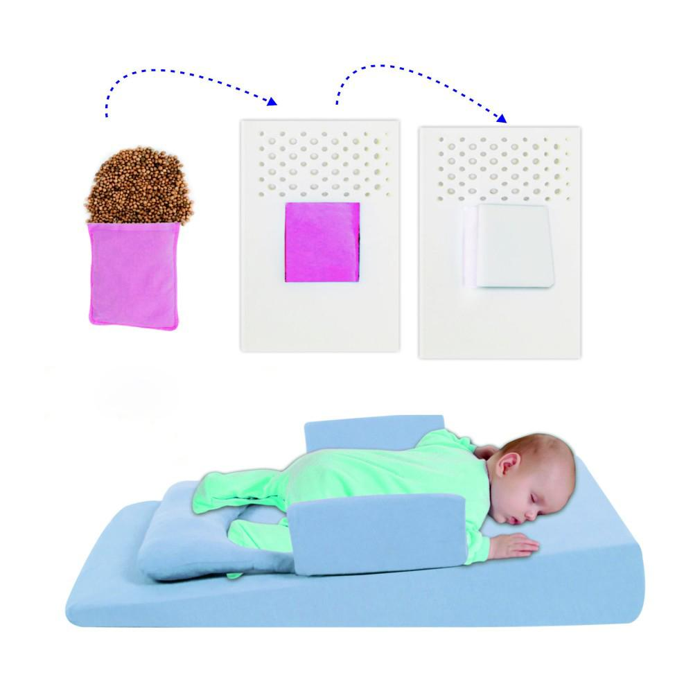 Sevi Bebe Multifunctional Baby Bed For Reflux & Gas Pain - Blue