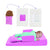 Sevi Bebe Multifunctional Baby Bed For Reflux & Gas Pain - Pink