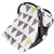 Sevi Bebe Muslin Infant Car Seat Cover - Triangle Pattern