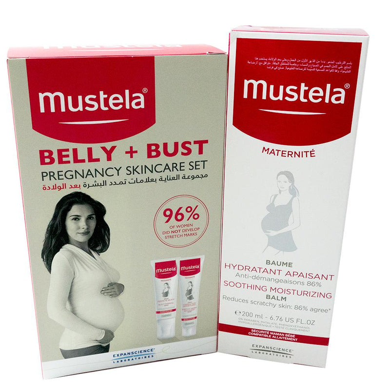 Mustela new mom skin care set (Postnatal kit)