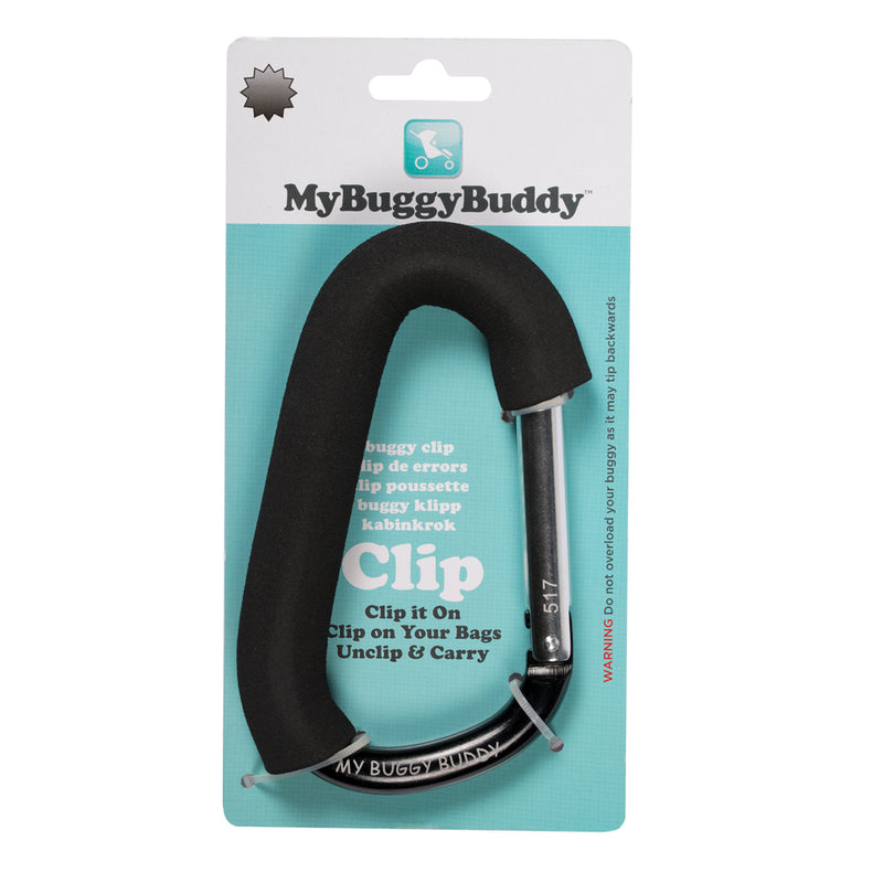 My Buggy Buddy Small Clip - Black
