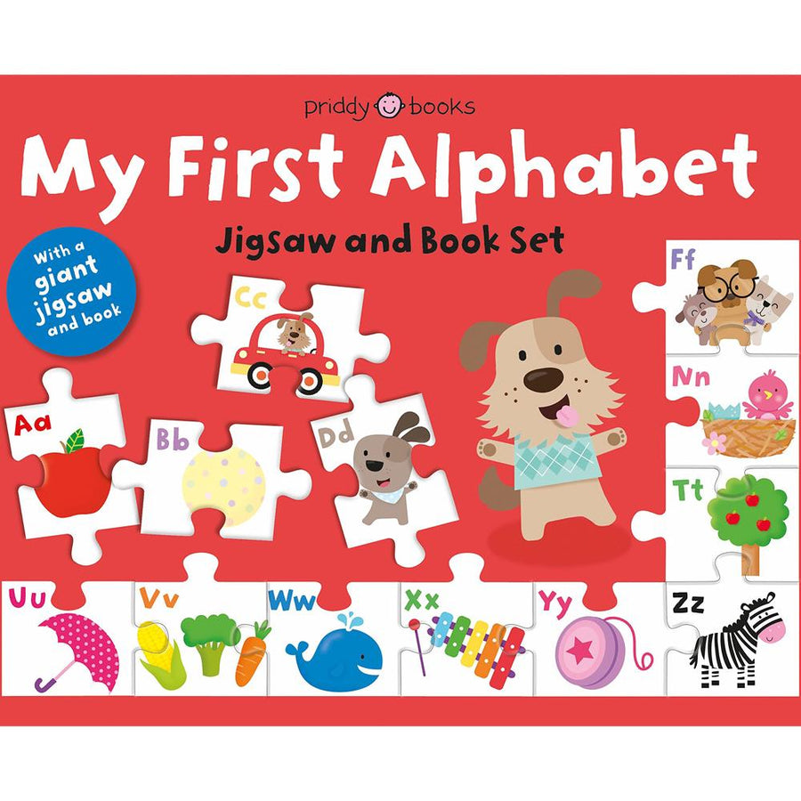 Priddy Books My First Box Set: My First Alphabet Jigsaw and Book Set