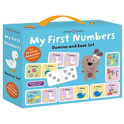 Priddy Books My First Box Set: My First Numbers Domino and Book Set