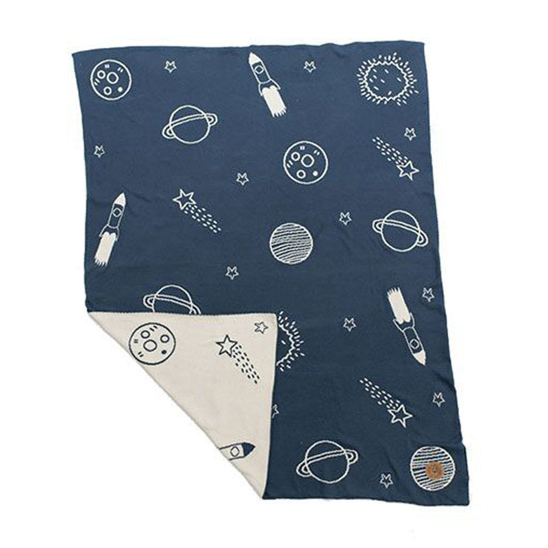 NIU ORGANIC COTTON BLANKET SPACE