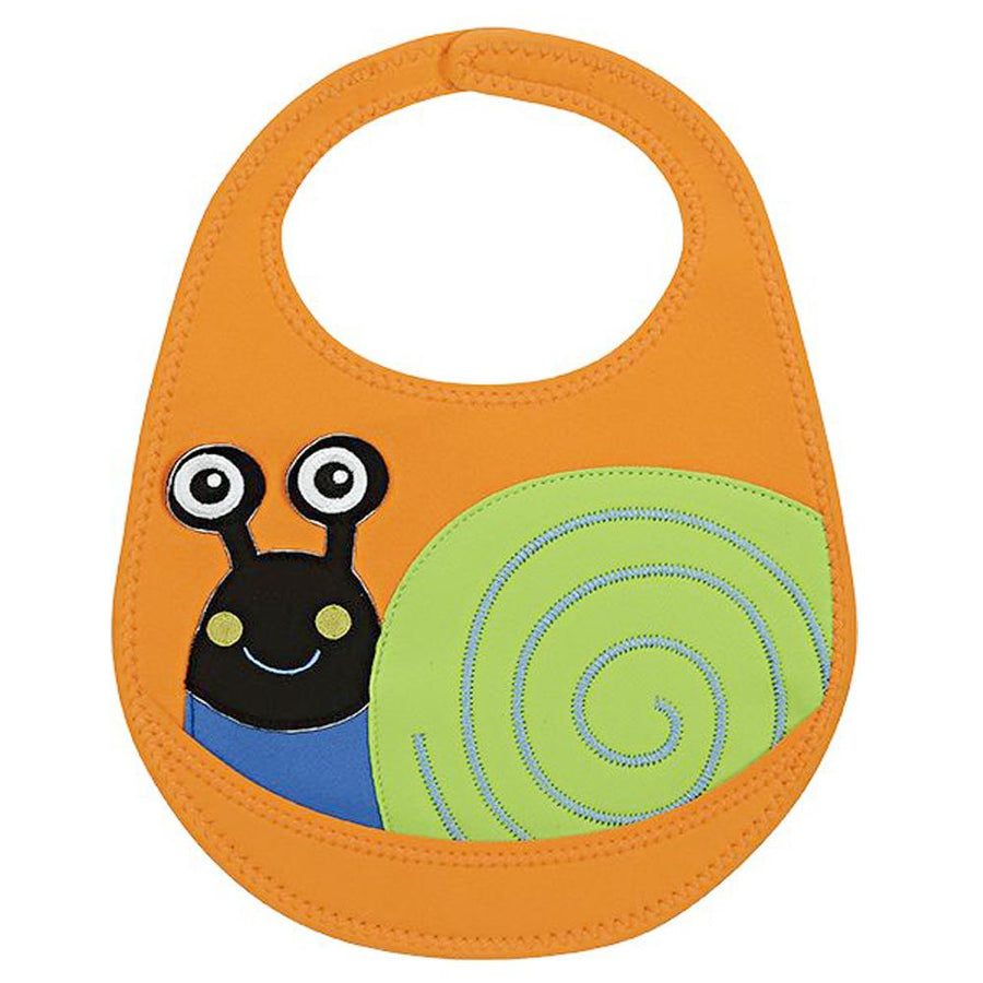 OOPS Happy Bib! Snail