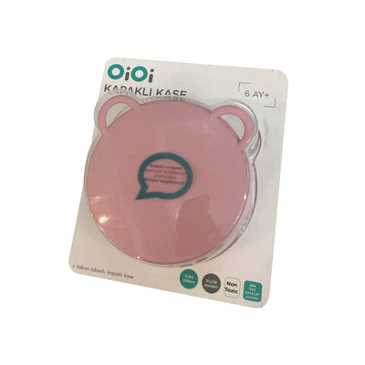 Minikoioi Bowl with cover - Pink