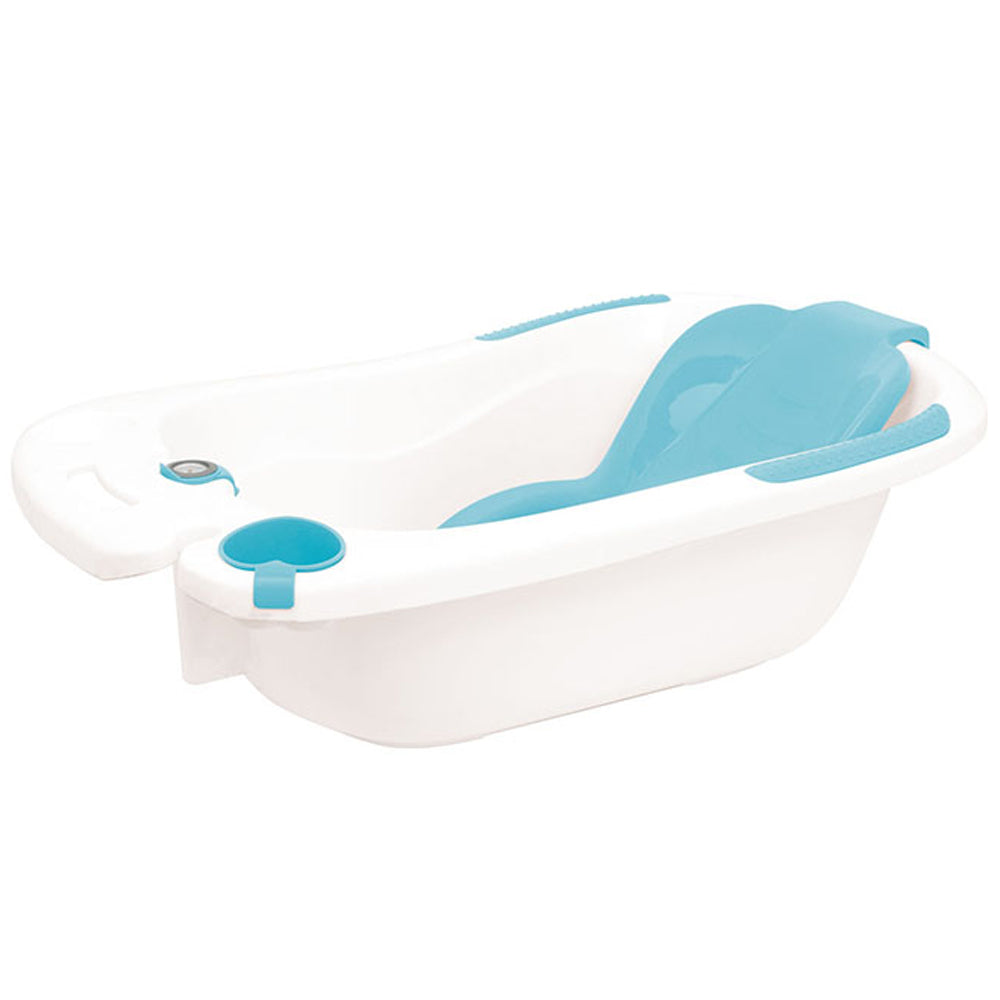 Olmitos Baby Bath Tub & Accessories, Blue
