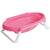 Olmitos Compact Foldable Bath Tub, Pink