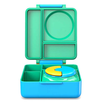 OmieBox Lunch Box Meadow, Green