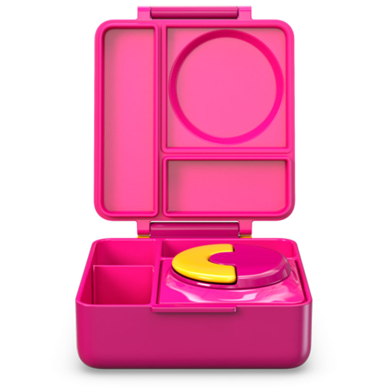OmieBox Lunch Box Pink Berry, Pink