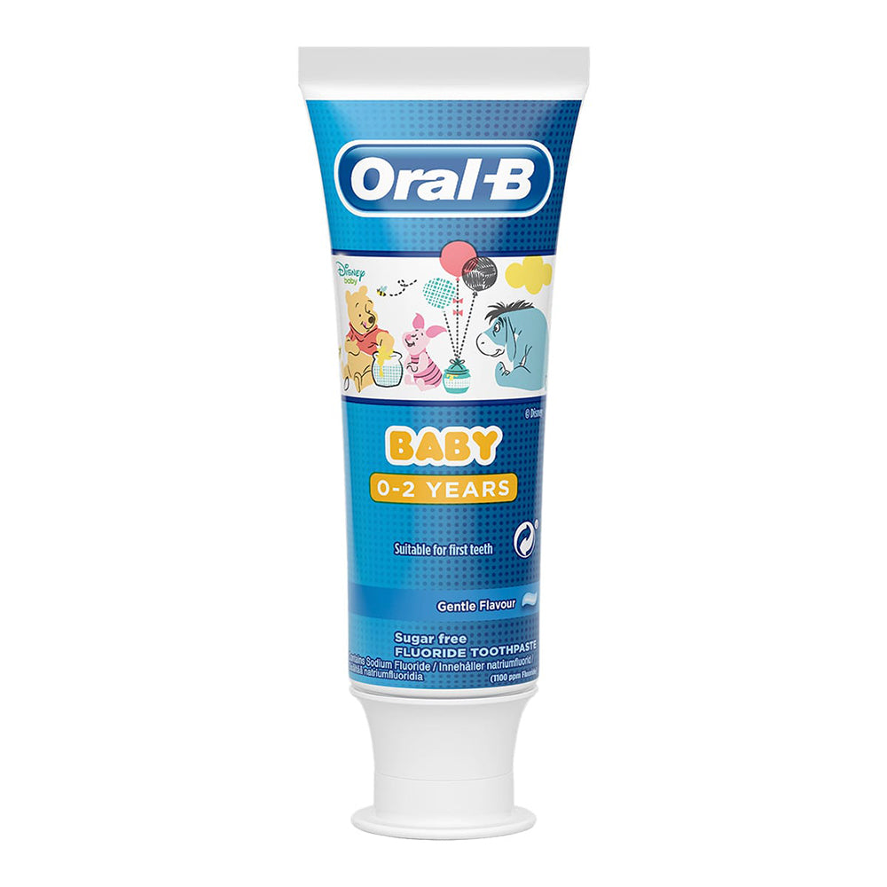 Oral B Baby Toothpaste 75 ml, 0-2 years