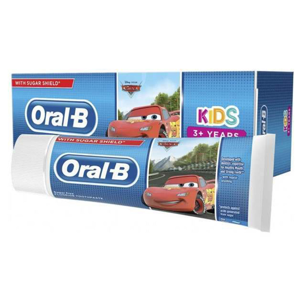 Oral B Cars Kids Toothpaste 75 ml - 3 years