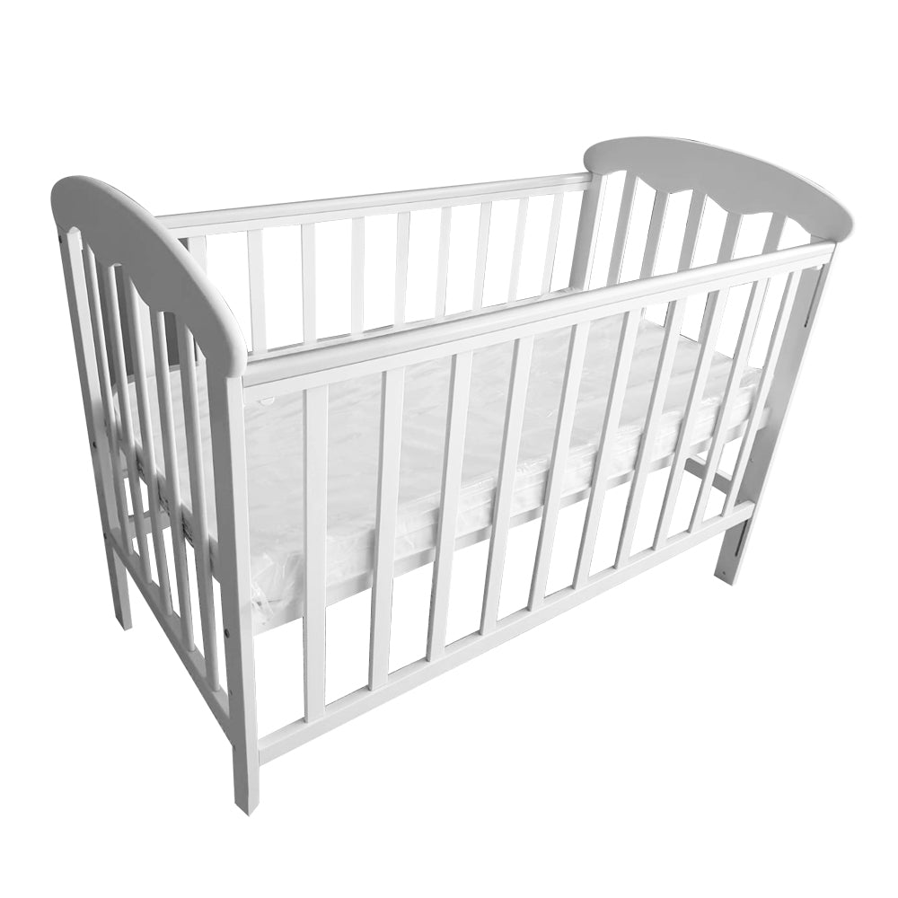 Funbies White Baby Cot