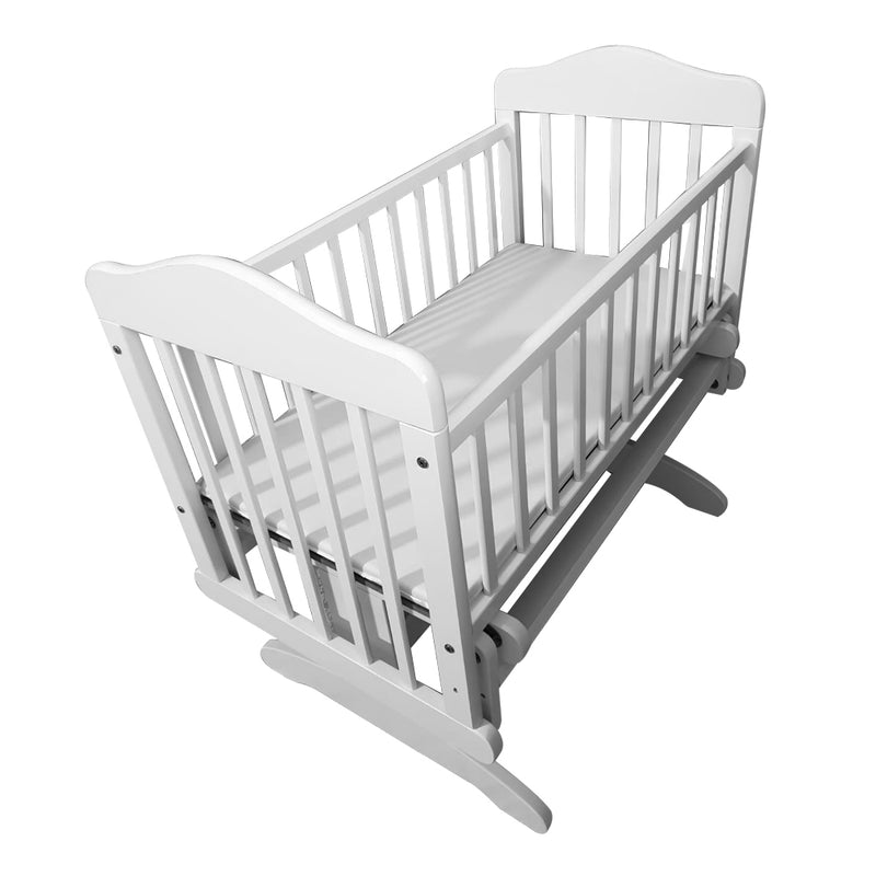Funbies Baby Rocking Cot - White