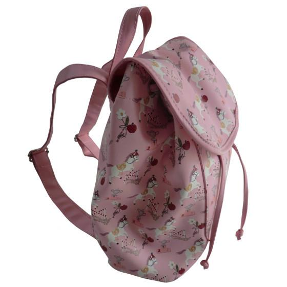 POWELL CRAFT PINK PONY PRINT RUCKSACK