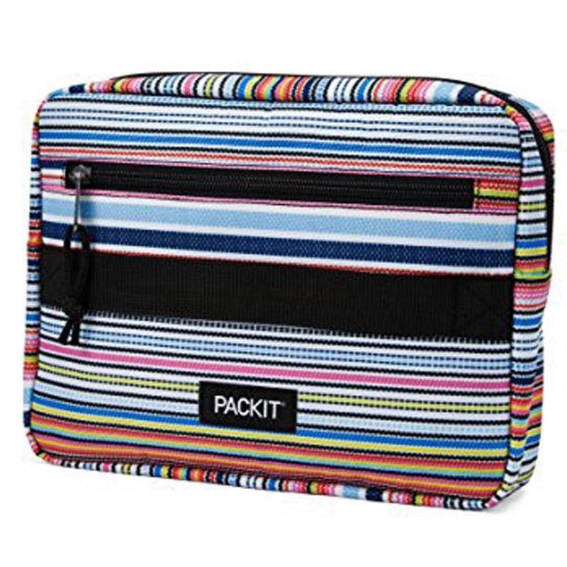PackIt Freezable Bento Bag with Container - Blanket Stripe