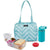 Packit Hampton Lunch Bag Aqua Tie Dye