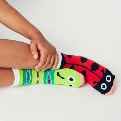 Pals Socks Ladybug & Caterpillar Kids Socks- 1-3 years