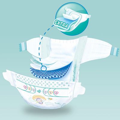 Pampers Active Baby Dry - Size 7 - 40 pieces