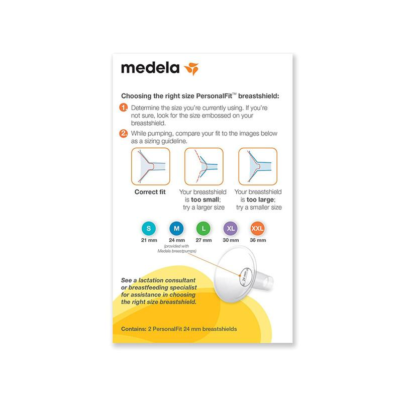 Medela PersonalFit breast shields, Pack of 2