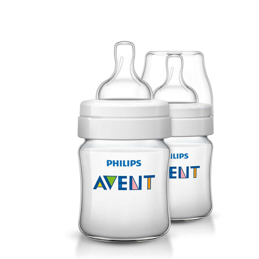 Philips Avent Classic+ Bottle, 125Ml Pack of 2