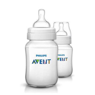 Philips Avent Classic+ baby bottle 260Ml, Pack Of 2