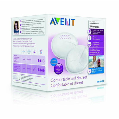 Philips Avent Day Breast Pads, Pack of 30