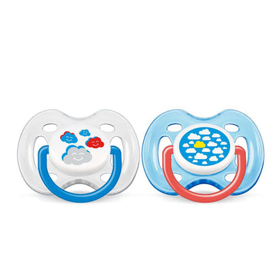 Philips Avent Freeflow pacifier 0-6 Months, Pack Of 2