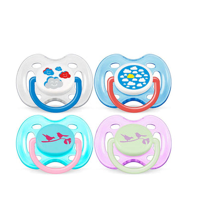 Philips Avent Freeflow Pacifiers 0-6 Months, Pack Of 2